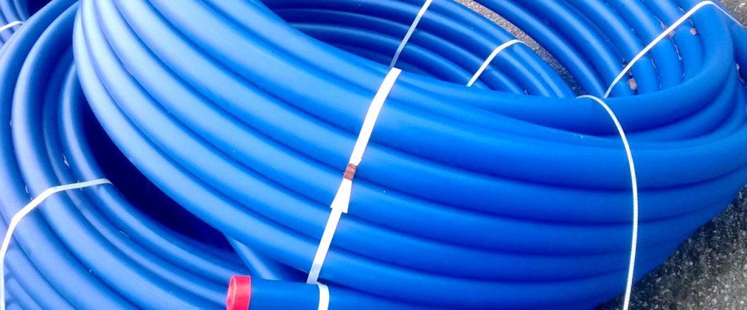 Vesijohtoputki HDPE 63mm, PN10, SDR 34, 100m kieppi
