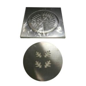 Lattiakaivon kansi, design, pyöreä 150 mm