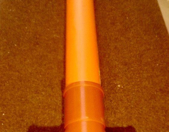 Tarkastusputki V 110mm, 160mm pystyputki 2m 40tn valurautakansisto